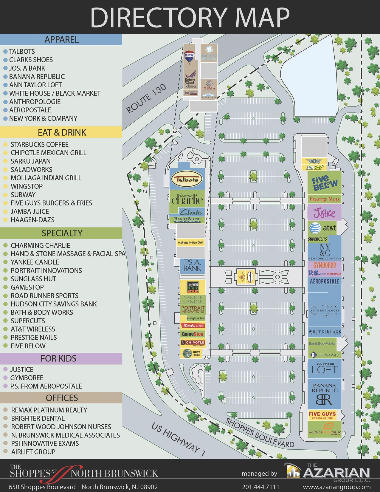 Store Directory Map